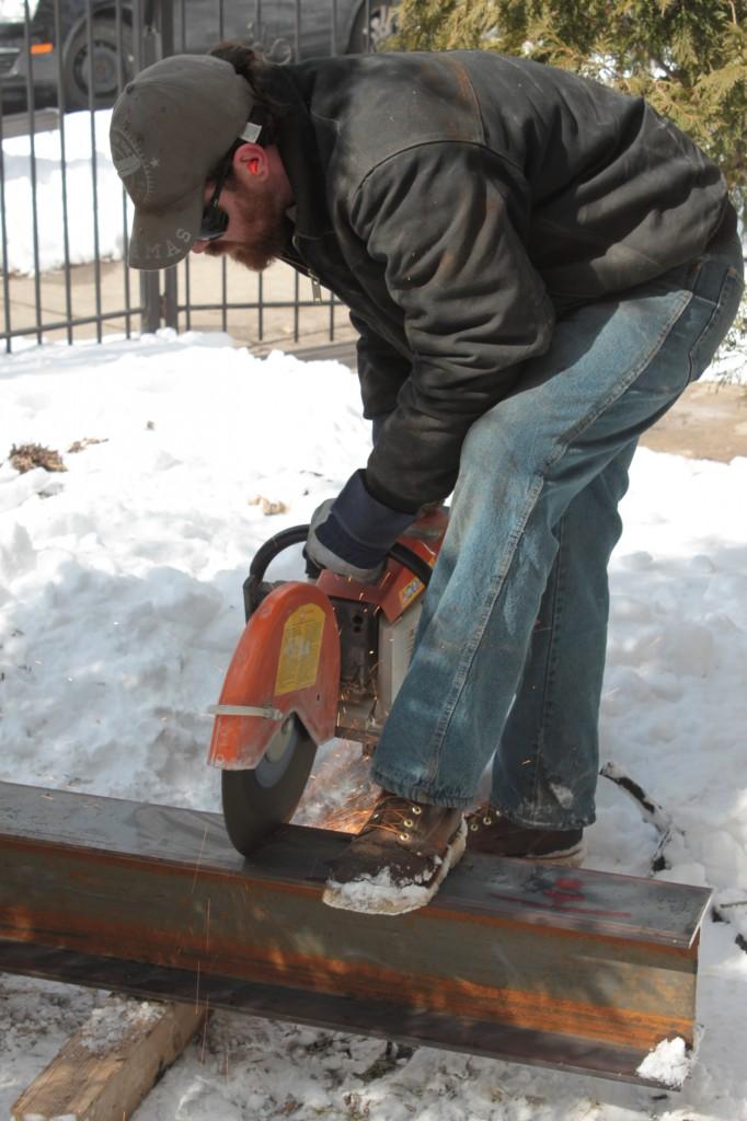 Cutting the beam