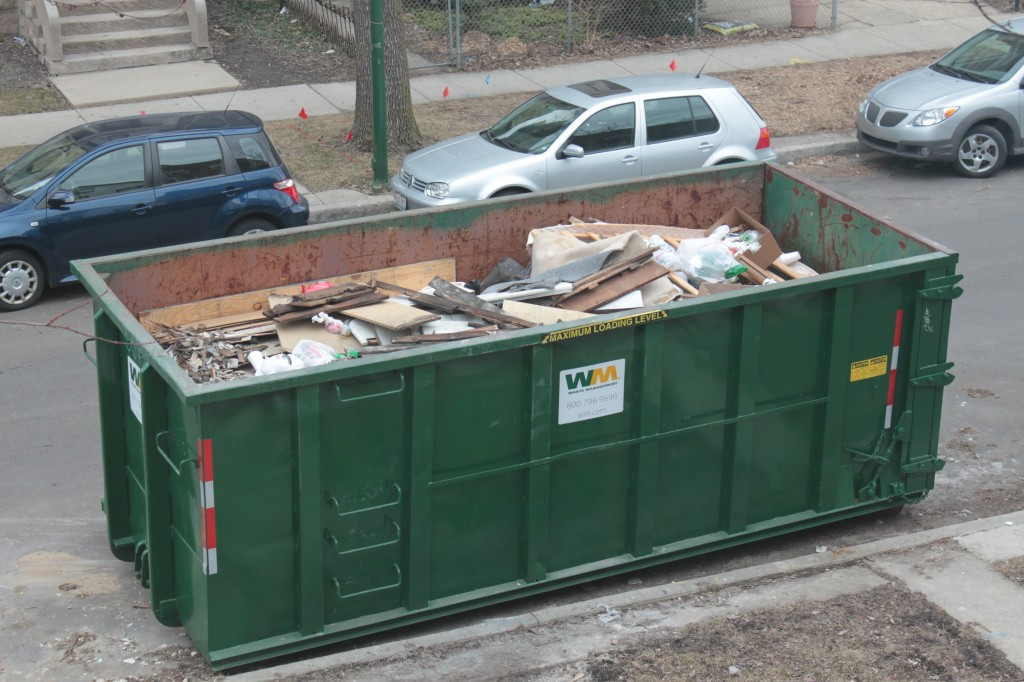 Second dumpster