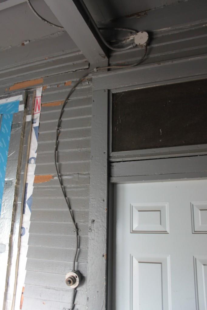 Relocated by door